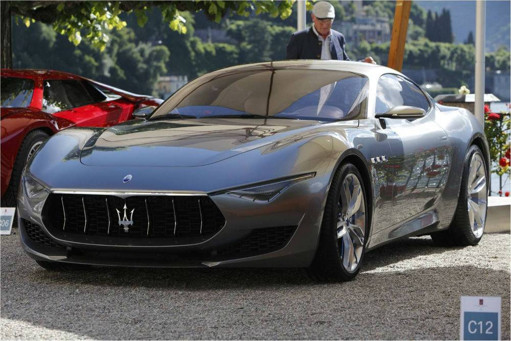 Maserati at Villa d'Este 2014