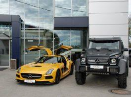 Mercedes-Benz SLS AMG Black Series and G63 AMG 6x6