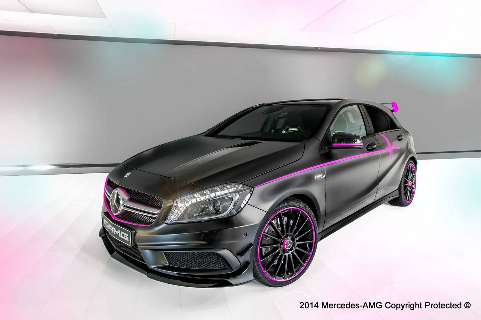 mercedes benz a 45 amg erika by amg performance studio gtspirit. Black Bedroom Furniture Sets. Home Design Ideas