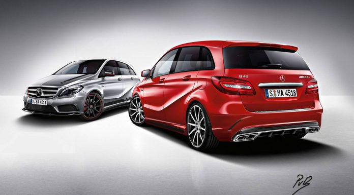 How a Mercedes-Benz B45 AMG Could Look