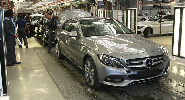 South African Mercedes-Benz C-Class Production Begins