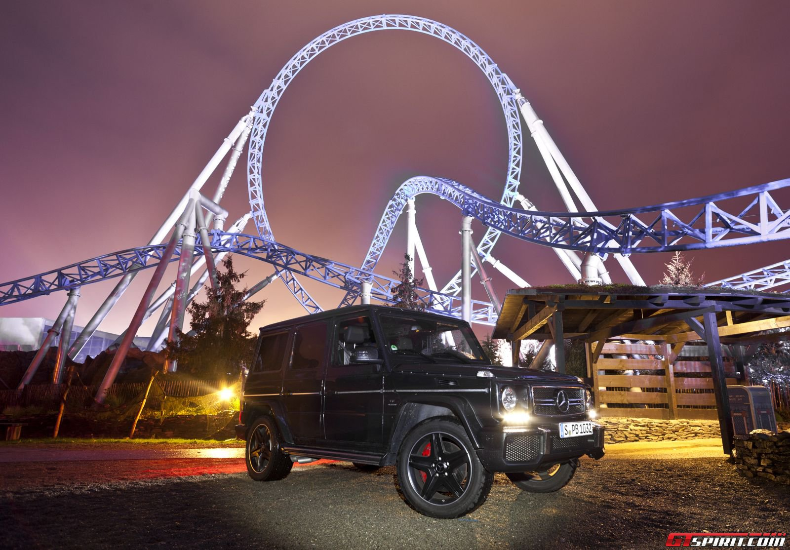 a night at europa park with mercedes benz gtspirit. Black Bedroom Furniture Sets. Home Design Ideas