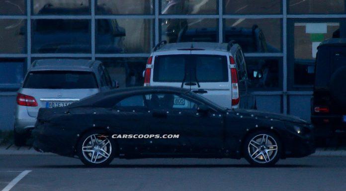 Mercedes-Benz S-Class Convertible Spied Testing