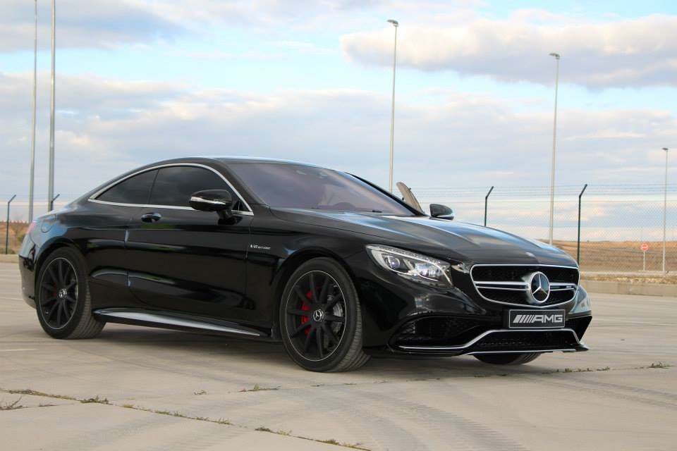 Stunning Black-on-Black Mercedes-Benz S 63 AMG Coupe