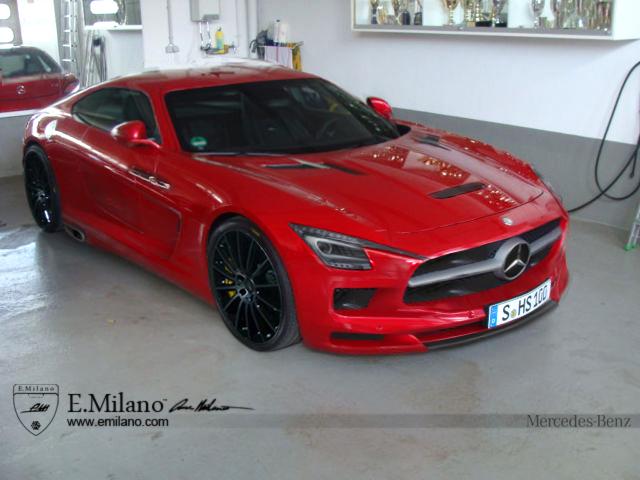 Render: Mercedes-Benz SLC Milano by Evren Milano