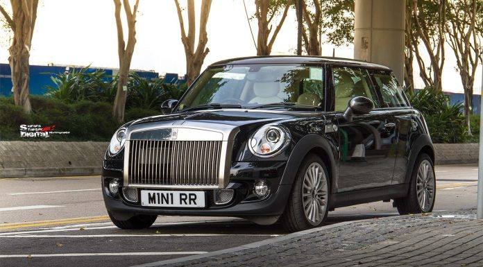 Mini Rolls-Royce?