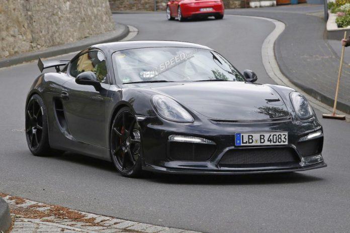 Porsche Cayman GT4 Could Produce 450hp