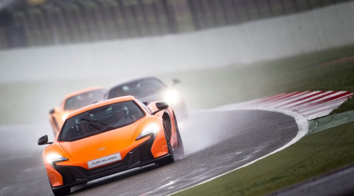 Pure McLaren Track Event at Silverstone Circuit