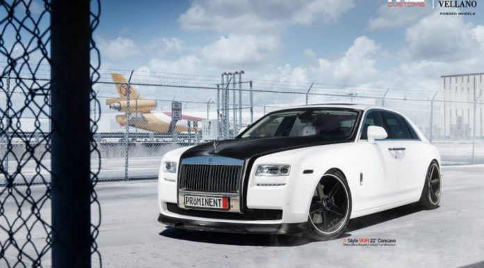 Black and White Rolls-Royce Ghost by MC Customs