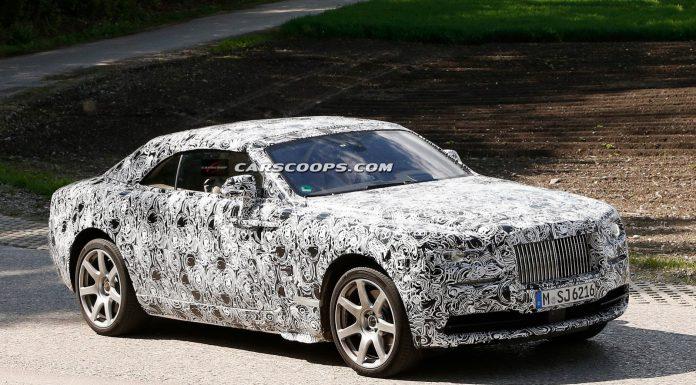 2016 Rolls-Royce Wraith Drophead Spied Testing