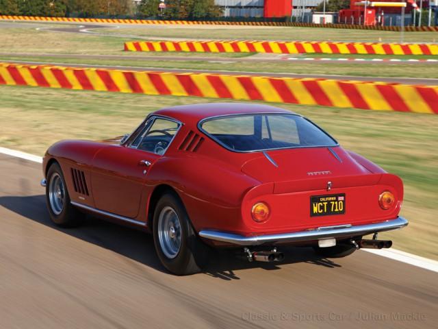 Steve McQueen 1967 Ferrari 275 GTB 4