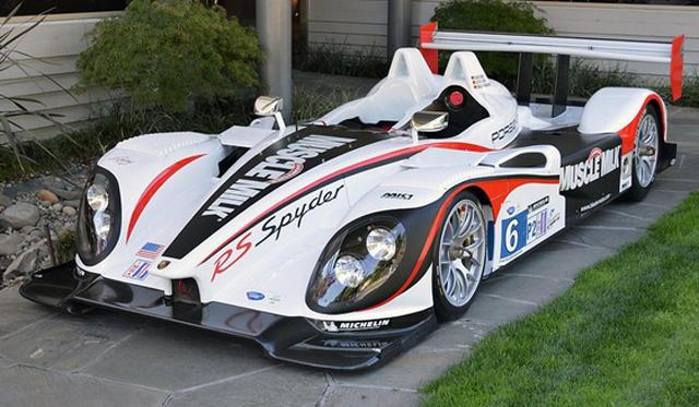 ALMS Winning Porsche RS Spyder LMP2 For Sale