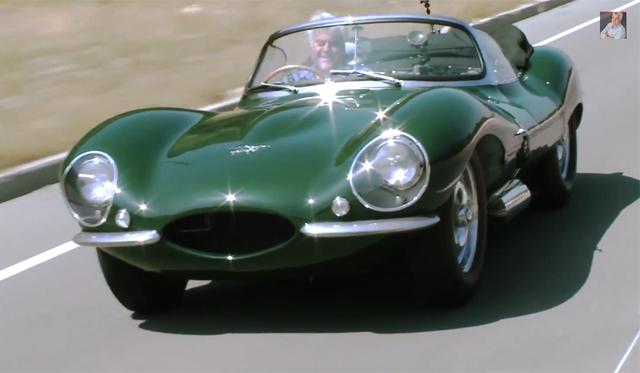 Video: Jay Leno Drives Steve McQueen's Jaguar XKSS