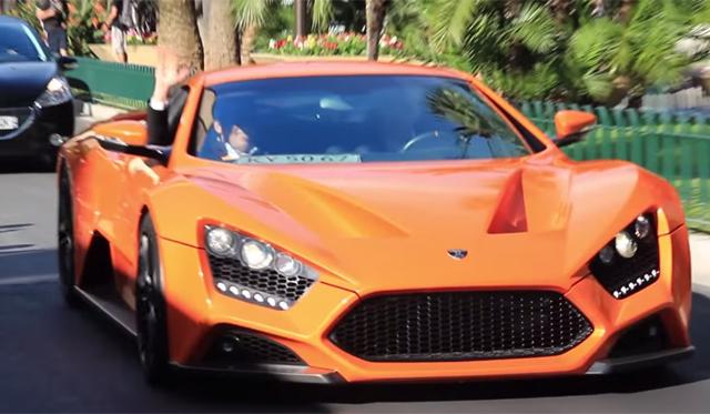 Video: 2014 Zenvo ST1 Ripping Through Monaco
