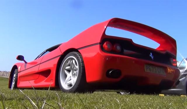 Video: Onboard a Screaming Ferrari F50