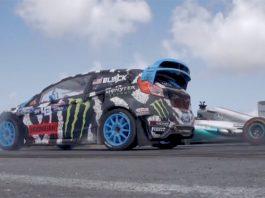 Video: Ken Block Races Lewis Hamilton at Top Gear Festival in Barbados!