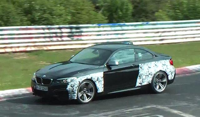 Video: 2016 BMW M2 Tackles the Nurburgring