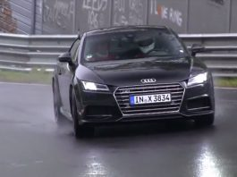 Video: New Audi TTS Hits the Nurburgring