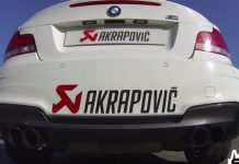 Video: Akrapovic Equipped BMW 1M Sprinting to 250 km/h