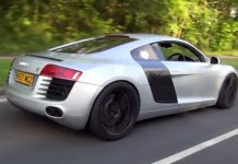 Video: Audi R8 V8 With Armytrix F1 Exhaust!