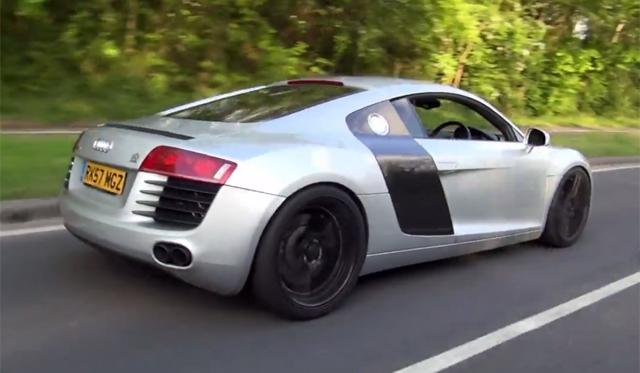 Video Audi R V With Armytrix F Exhaust GTspirit - Audi r8 v8
