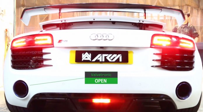 Video: Armytrix Equipped Audi R8 Screams!