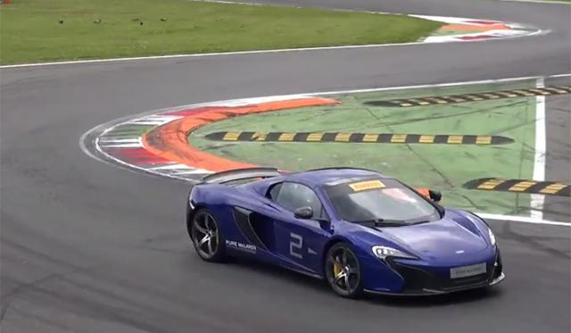 Video: McLaren 650S' Hit Monza!