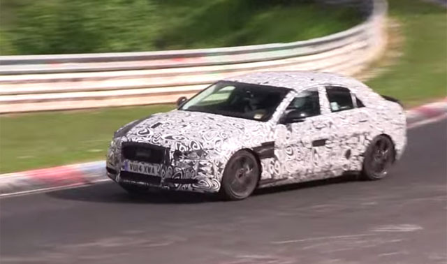 Video: Supercharged Jaguar XE on the Nurburgring