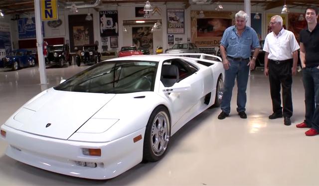 Video: Jay Leno Drives Classic 1991 Lamborghini Diablo