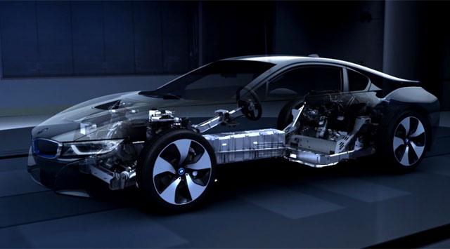 Video: BMW Highlights the i8's Lightweight Construction