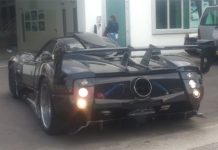 Video: Mysterious New Pagani Zonda LM Prototype Spotted