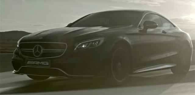 Video: Mercedes-Benz S63 AMG Coupe Trailer