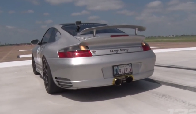Video: 1500hp Porsche 911 Spins Out at 180mph!