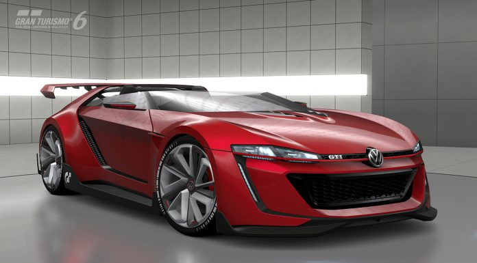 Volkswagen GTI Roadster Vision Gran Turismo Comes to Life Virtually