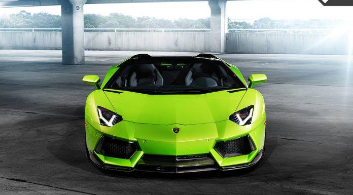 Vorsteiner Green Aventador
