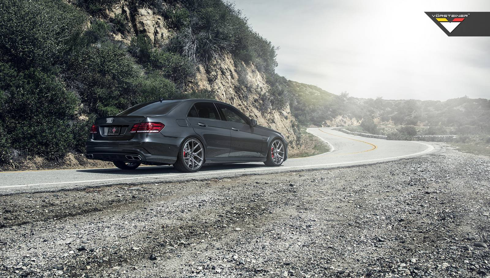 Mercedes benz e 63 amg s model 4matic with vorsteiner for Mercedes benz e63 amg s