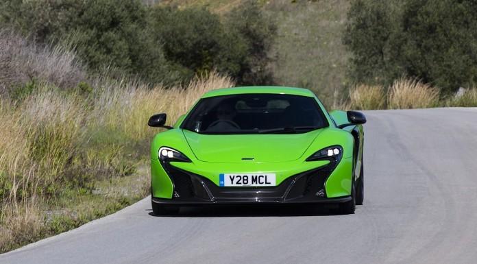 Acid Green McLaren 650S Is....Bright