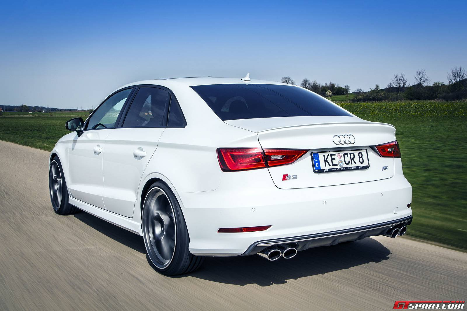 Official Abt Audi S3 Sedan Gtspirit