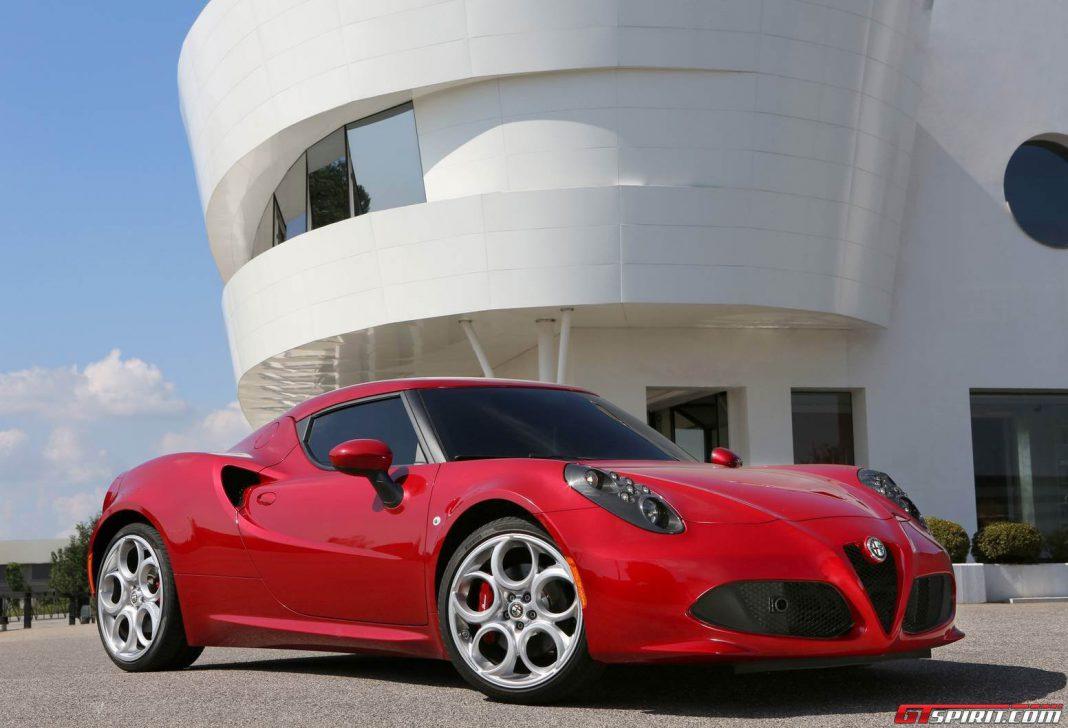 Alfa Romeo 4C Weighs 160kg More in the U.S!