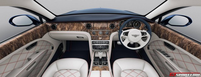 Official: Bentley Mulsanne 95