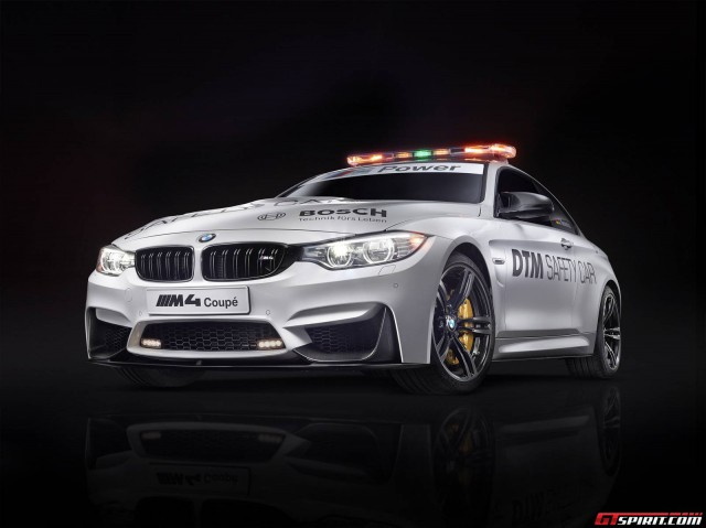 Official: BMW M4 Coupe DTM Safety Car