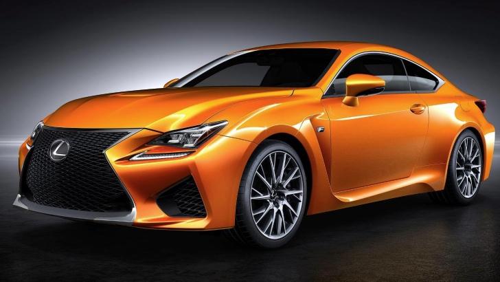 Lexus Asking Fans to Name RC F Coupe Orange