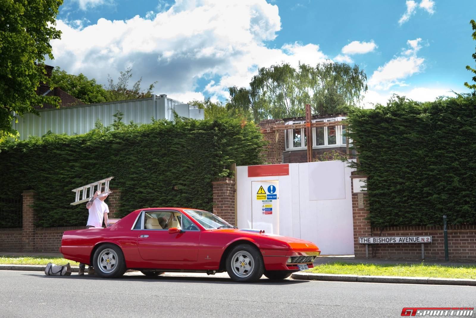 U K Shop Creates Ferrari 412 Pickup Truck Gtspirit