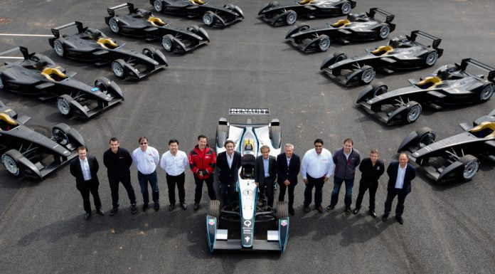 First 10 Formula E Racers Delivered