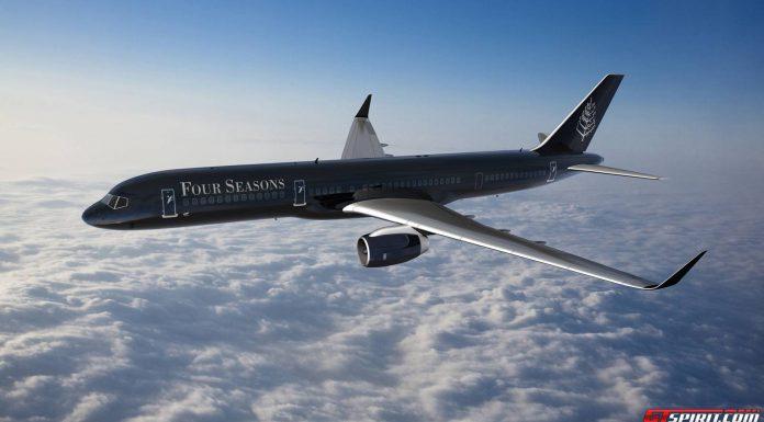 Four Seasons Boeing 757 Jet