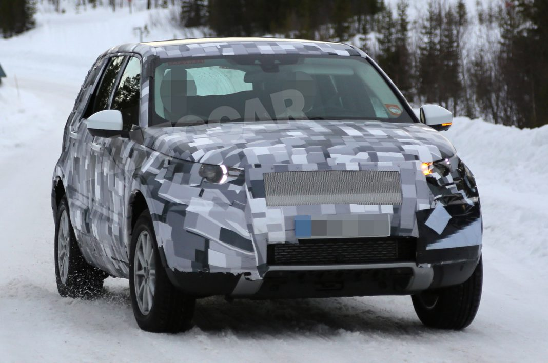 Upcoming Freelander Replacing Land Rover Discovery Sport Spied