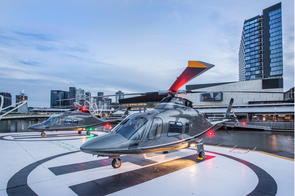 mercedes benz australia offering helicopter transfers On mercedes benz airport