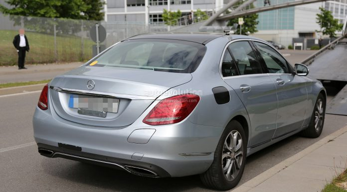 Mercedes-Benz C 350 Plug-in Hybrid Spotted Undisguised