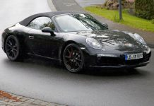 Upcoming Porsche 911 GTS Spied Testing
