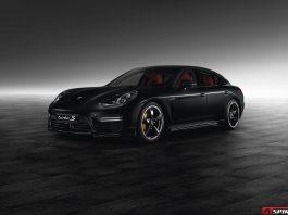 Jet Black Metallic Panamera Turbo S by Porsche Exclusive